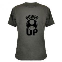 Камуфляжная футболка Power Up гриб Марио - FatLine
