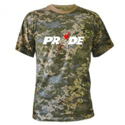 Камуфляжная футболка Pride - FatLine