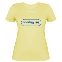 Женская футболка Prodigy Logo - FatLine