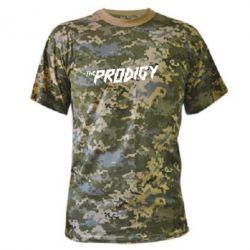 Камуфляжная футболка Prodigy - FatLine