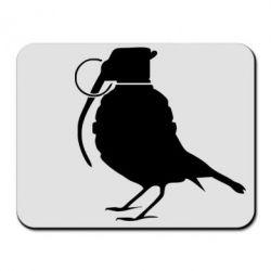 Коврик для мыши Птичка с гранатой - FatLine
