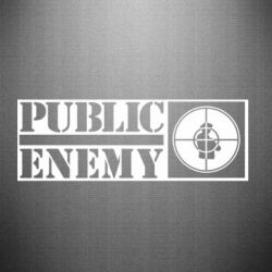 Наклейка Public Enemy - FatLine