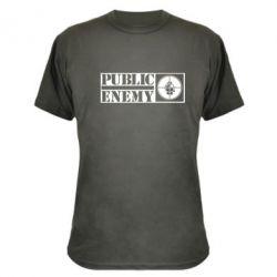 Камуфляжная футболка Public Enemy - FatLine