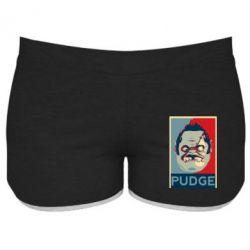Женские шорты Pudge aka Obey - FatLine