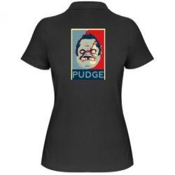 Женская футболка поло Pudge aka Obey - FatLine