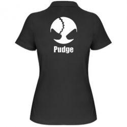 Женская футболка поло Pudge - FatLine