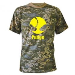 Камуфляжная футболка Pudge - FatLine