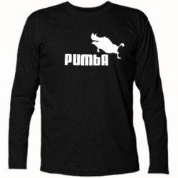 Футболка с длинным рукавом Pumba
