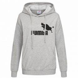 Женская толстовка Pumba