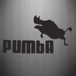 Наклейка Pumba