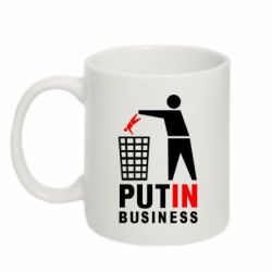 Кружка 320ml Put In Business - FatLine