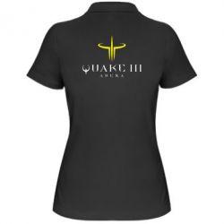 Женская футболка поло Quake 3 Arena - FatLine