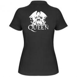 Женская футболка поло Queen - FatLine