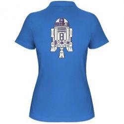 Женская футболка поло R2D2 - FatLine
