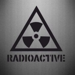 Наклейка Radioactive - FatLine