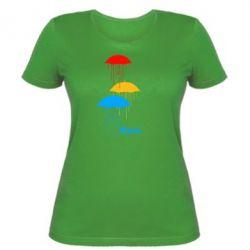 Женская футболка Rain - FatLine