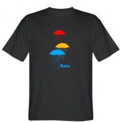 Мужская футболка Rain - FatLine