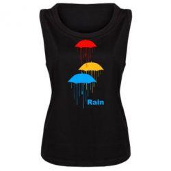 Женская майка Rain - FatLine