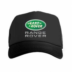 Кепка-тракер Range Rover Logo Metalic - FatLine