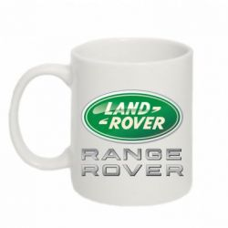 Кружка 320ml Range Rover Logo Metalic - FatLine