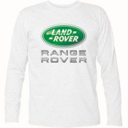 Футболка с длинным рукавом Range Rover Logo Metalic - FatLine