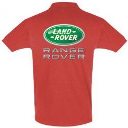 Футболка Поло Range Rover Logo Metalic - FatLine
