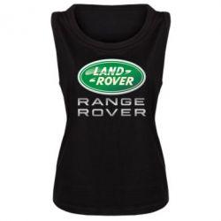 Женская майка Range Rover Logo Metalic - FatLine