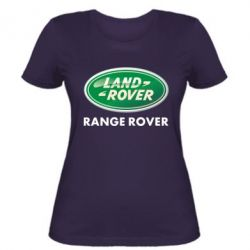 Женская футболка Range Rover - FatLine