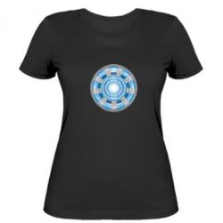 Женская футболка Реактор Тони Старка - FatLine