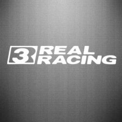 Наклейка Real Racing - FatLine