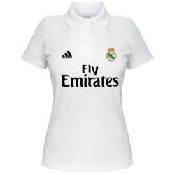 Женская футболка поло Реал - FatLine