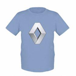 Детская футболка Renault Logo - FatLine