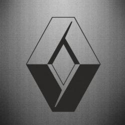 Наклейка Renault - FatLine