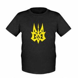 Детская футболка Революційний Герб - FatLine