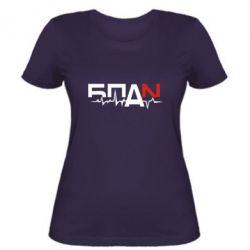 Женская футболка Ритм БПАН