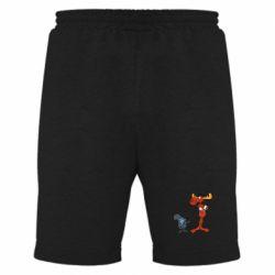 Мужские шорты Рокки и Бульвинкль - FatLine