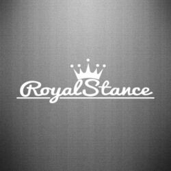 Наклейка Royal Stance - FatLine