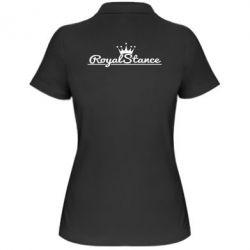 Женская футболка поло Royal Stance - FatLine
