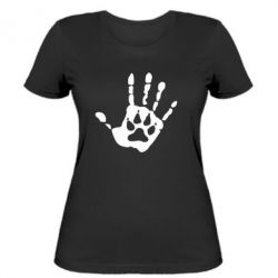 Жіноча футболка Рука вовка - FatLine