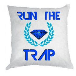 Подушка Run the Trap Diamond