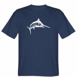 Мужская футболка Рыба Марлин - FatLine