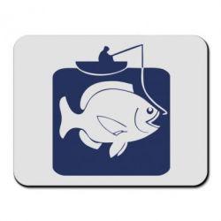 Килимок для миші Риба на гачку - FatLine