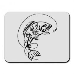 Коврик для мыши Рыба - FatLine