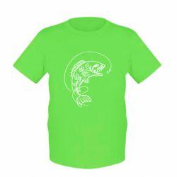 Детская футболка Рыба - FatLine