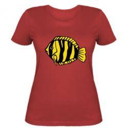Жіноча футболка рибка - FatLine