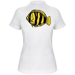 Женская футболка поло рыбка - FatLine