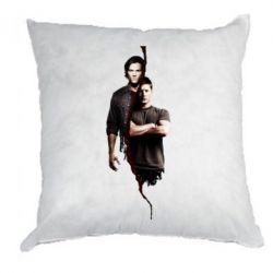 Подушка Sam and Dean - FatLine