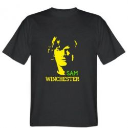 Мужская футболка Sam Winchester - FatLine