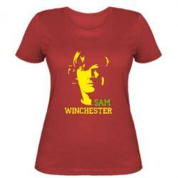 Женская футболка Sam Winchester - FatLine