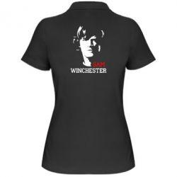 Женская футболка поло Sam Winchester - FatLine